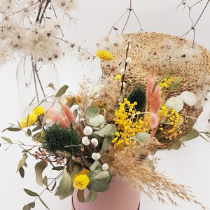 Box & Dried Flowers